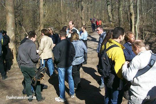 Wanderung im Naturschutzgebiet Kühkopf am Altrhein bei Darmstadt